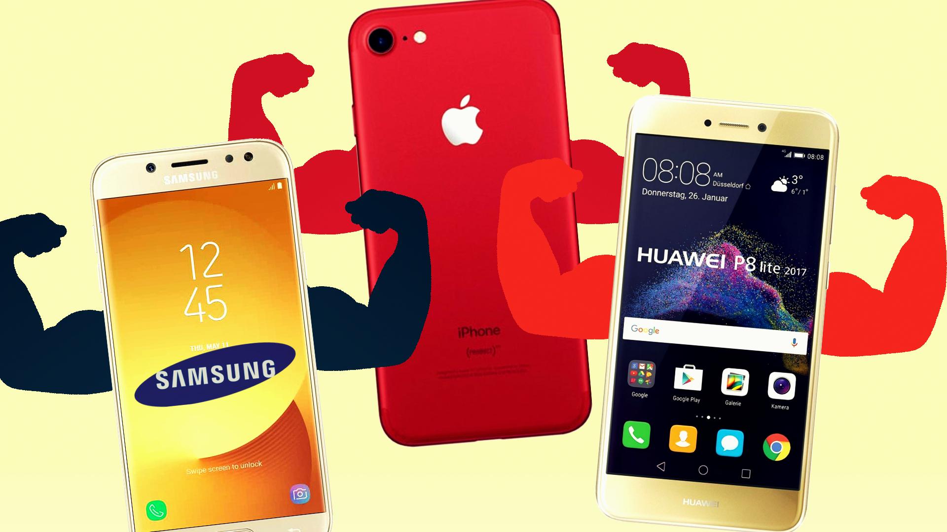 [WORK] Apple Dominates Global Smartphone Market But Samsung's Catching Up LuchaSmartphones2