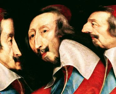 Philippe de Champaigne, Triple Portrait du Cardinal de Richelieu, vers 1640