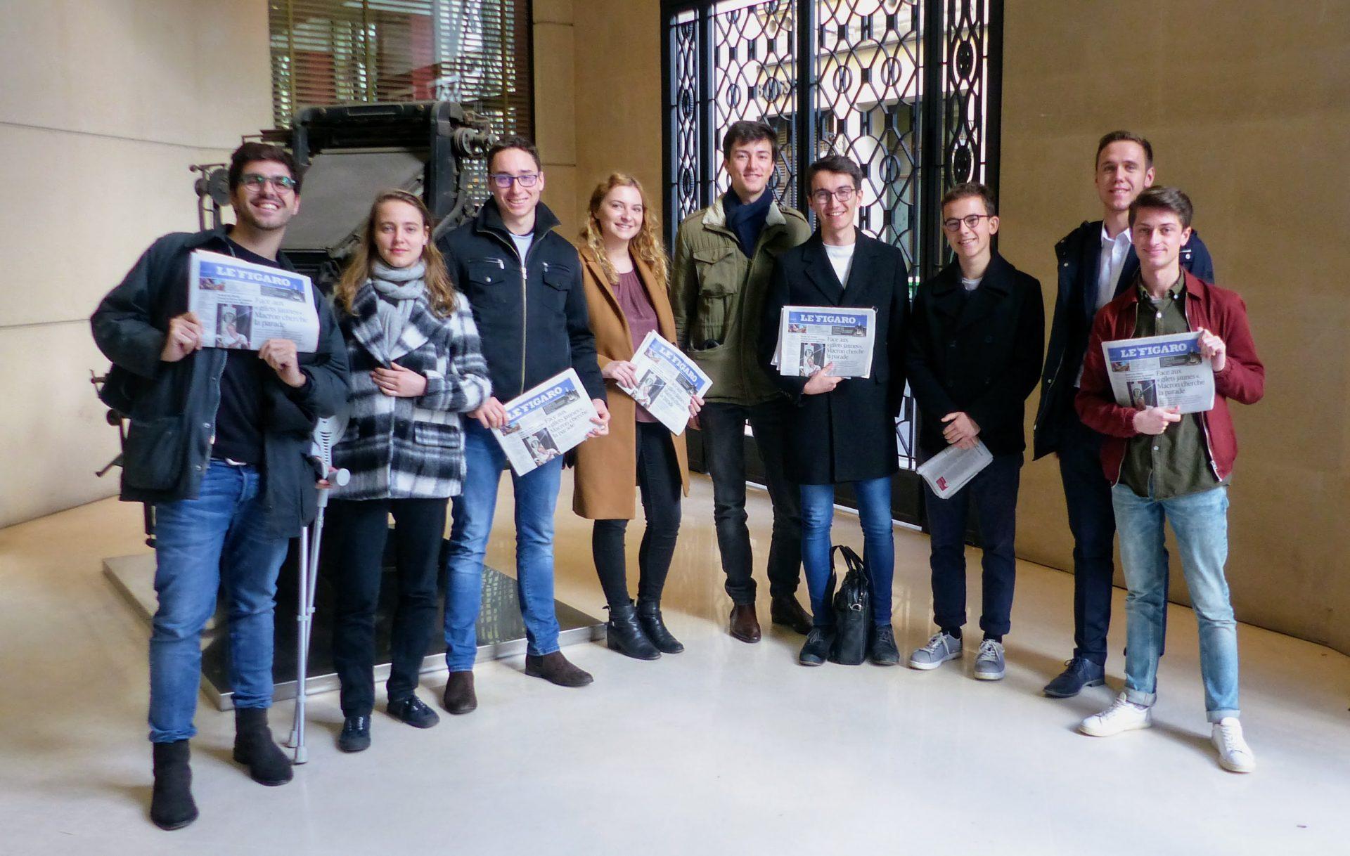 The KIP Team at Le Figaro