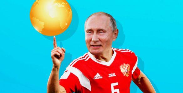 Vladimir Poutine footballer