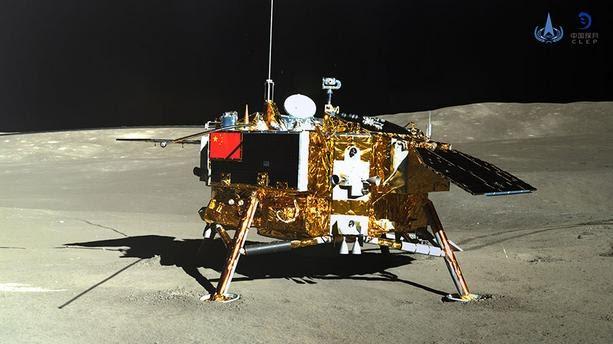 """Robot """"lapin de jade 2"""" posé sur la face caché de la Lune en 2019"""
