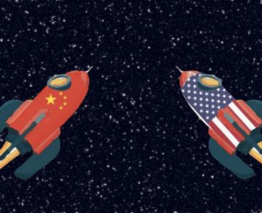 fusées course Espace Chine Etats-Unis